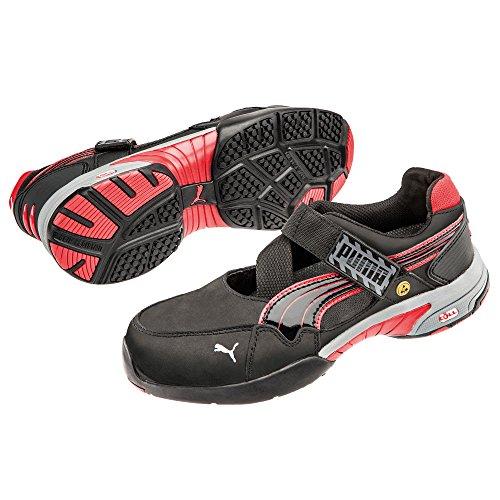 Pour 42 Sécurité S1 210 Low rouge Src Chaussures De Hro Puma 42 Taille Wns Femme Noir Spring 642830 gris Es x04wawqR