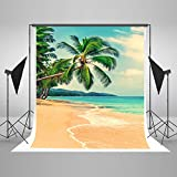 Kate 5x7ft Tropical Rainforest Photography Backdrop Summer Beach Background Cloth for Wedding Photo Booth Custom Size Digital Printed Without Wrinkles