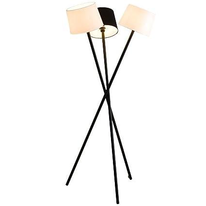 Lámparas de pie Lámpara de pie moderna del trípode con el ...