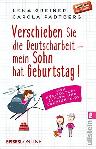 Price comparison product image Verschieben Sie die Deutscharbeit - mein Sohn hat Geburtstag!