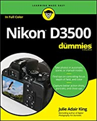 Use your Nikon D3500 camera like the pros Capturing frame-worthy photos is no easy feat —until now! Inside, author Julie King shares her experience as a professional photographer and photography teacher to help you get picture-perfect landsc...