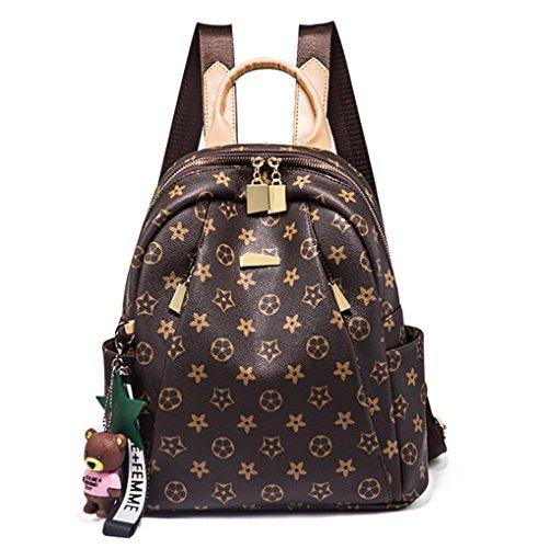 des Sac souple à femmes cuir en décontracté sac 12 à sac 30cm cuir multifonctionnel dos mode la PVC main à 28 tAxqwvrA