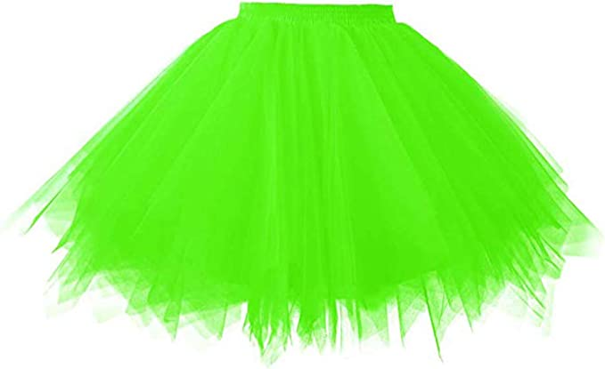 1980s Clothing, Fashion | 80s Style Clothes Smile Fish Womens 80s Tutu Skirts Tulle Costume Halloween $19.99 AT vintagedancer.com