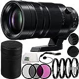Panasonic Leica DG Vario-Elmar 100-400mm f/4-6.3 ASPH POWER O.I.S. Lens 12PC Accessory Kit. Includes Manufacturer Accessories + 3PC Filter Kit (UV-CPL-FLD) + 4PC Macro Filter Set (+1,+2,+4,+10) + MORE