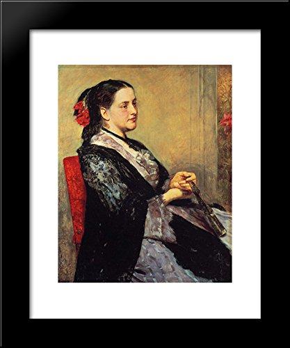 Portrait of a Lady of Seville 20x24 Framed Art Print by Mary Cassatt