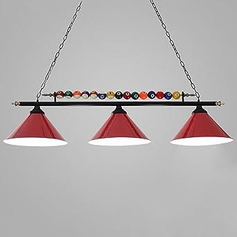 Lustres Lampe De Table Led Personnalise Fer Snooker Lampes Cafe