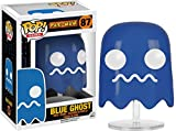 Blue Ghost: Funko POP! x Pac-Man Vinyl Figure + 1 FREE Video Games Themed Trading Card Bundle [76443]