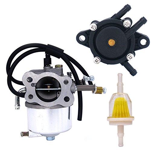 NIMTEK Carburetor with Fuel Pump & Filter for EZGO TXT Golf Carts 295cc EZ GO 1991-UP (Ezgo Golf Cart Fuel Pump)