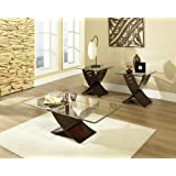 Amazoncom 3 Piece Coffee Tables Tables Home Kitchen