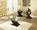 Product review for Cafe 3-Piece Occasional Table Set Espresso