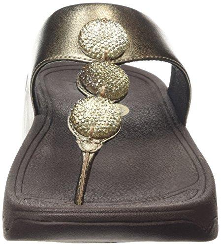 Fitflop Petra (sugar) - Sandalias Mujer Marrón - Brown (Bronze 012)