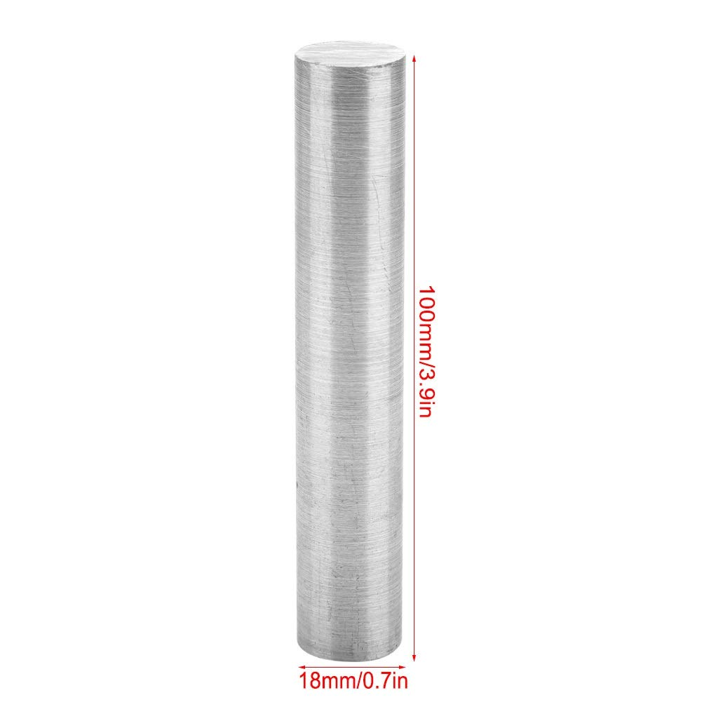 8 * 60mm, 8 * 250mm, 18 * 100mm Size : 8 * 250mm Magnesium Rod BiuZi 1Pc 99.99/% High Purity Magnesium Metal Rod Silver Optional Round Magnesium Rod Survival Emergency Accessory