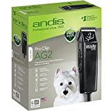 Andis ProClip AG2 2-Speed Detachable Blade Clipper, Professional Animal Grooming, AG-2  (22215)