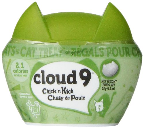 Hagen Cloud 9 Chick'n Kick Cat Treat, 1.2-Ounce, Chicken