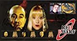 RED DWARF COLLECTABLE COVER SIGNED BY NORMAN LOVETT & HATTIE HAYRIDGE by Red Dwarf