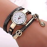 Women Metal Strap Watch Ninasill Black Watch