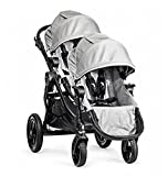 Baby Jogger 2016 City Select Double Stroller with 2nd Seat (Silver)