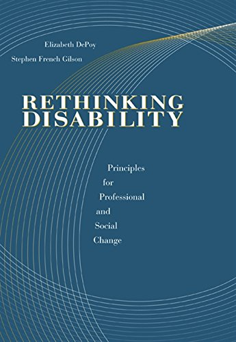 Rethinking Disability: Principles for Professional and Social Change (Disabilities)