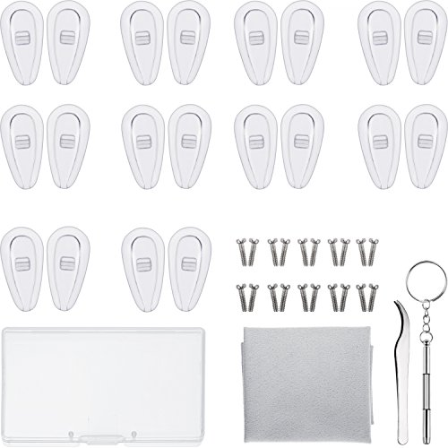 How to buy the best screw-in nose pads for eyeglasses 13mm?