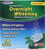 Overnight Whitening Denture Cleanser Tablets Bulk Case of 24