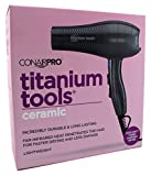 Conair Pro Titanium Tools Ceramic 2000w Turbo Charged Dryer