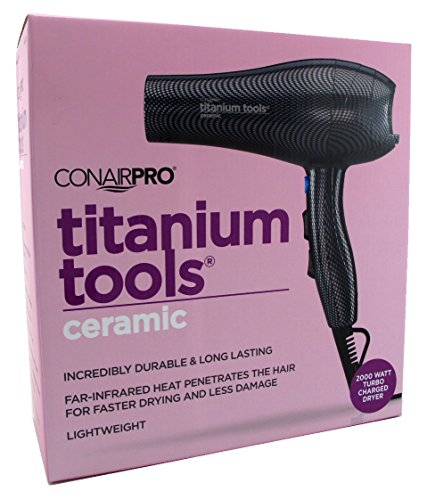 Conair Titanium Tools Ceramic Charged