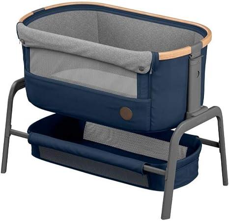 Maxi-Cosi 2106750110 Iora alta calidad, altura regulable, desde el nacimiento hasta los 6 meses como m/áximo 9 kg Cuna auxiliar color gris