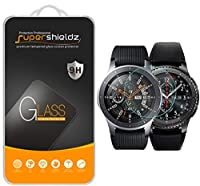 "[2-Pack] Supershieldz for Samsung Gear S3 Frontier Tempered Glass Screen Protector, (Updated Version ""Full Cover"") Anti-Scratch, Anti-Fingerprint, Bubble Free, Lifetime Replacement Warranty"