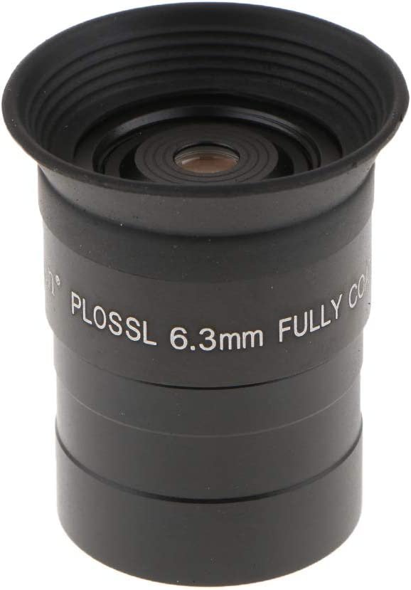 Almencla Metal 1.25 6.3mm Plossl Eyepiece Fully Coated for Astronomical Telescope