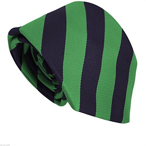 Navy Striped Style School amp; Green Men's Ties EYq5wEA