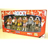 ROCKY 6-PACK EXCLUSIVE 30TH ANNIVERSARY COLLECTORS BOX SET Rocky Boxing Action Figures