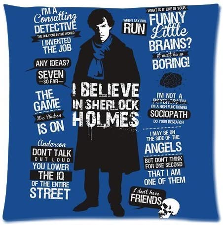 Benedict Cumberbatch Coussin Pillow Cover Case-Cadeau