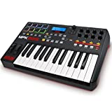 Akai Professional MPK225 | 25-Key USB MIDI Keyboard & Drum Pad Controller with LCD Screen