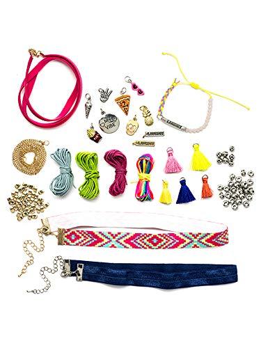 LaurDIY 37600002 Cording Jewelry LARGE DIY KIT Multicolor