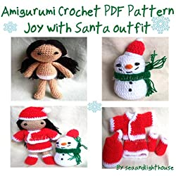 Joy with Santa outfits - Amigurumi Crochet Pattern