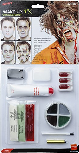 Zombie-Latex-Kit-Face-Paint-Fake-blood-Gel-Blood-Liquid-Latex-Horror-Flesh-and-Applicators-maquillaje-pintura-de-cara