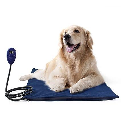 Oops Calefaccion Perros Manta, Mantita Electrica, Almohadilla TéRmica para Mascotas A Prueba De Agua
