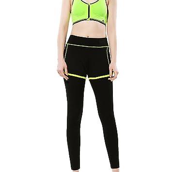 lmmvp Mujer Puerto Gym Yoga Skinny Pantalones Cortos ...