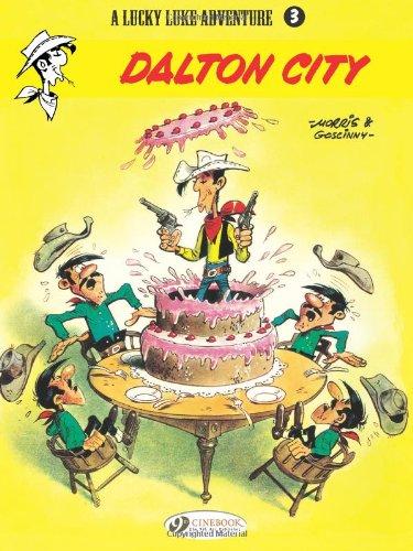 Lucky Luke - tome 3 Dalton City (03) (Anglais) Broché – 2 novembre 2006 Morris Rene Goscinny Cinebook 1905460139