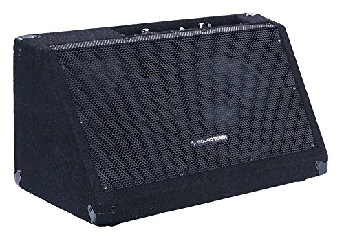 "Sound Town METIS Series 10"" Powered Stage Monitor Speaker (METIS-10MPW) ()"