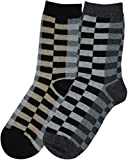 Trimfit Boys Checkered Dress Socks - 17056