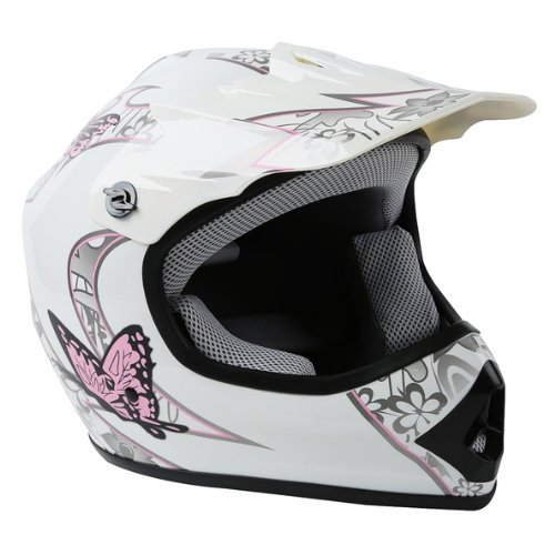 TCMT DOT Certified Youth Pink Butterfly Dirt Bike ATV Offroad Street Motorcycle Motocross Helmet Gog - http://coolthings.us