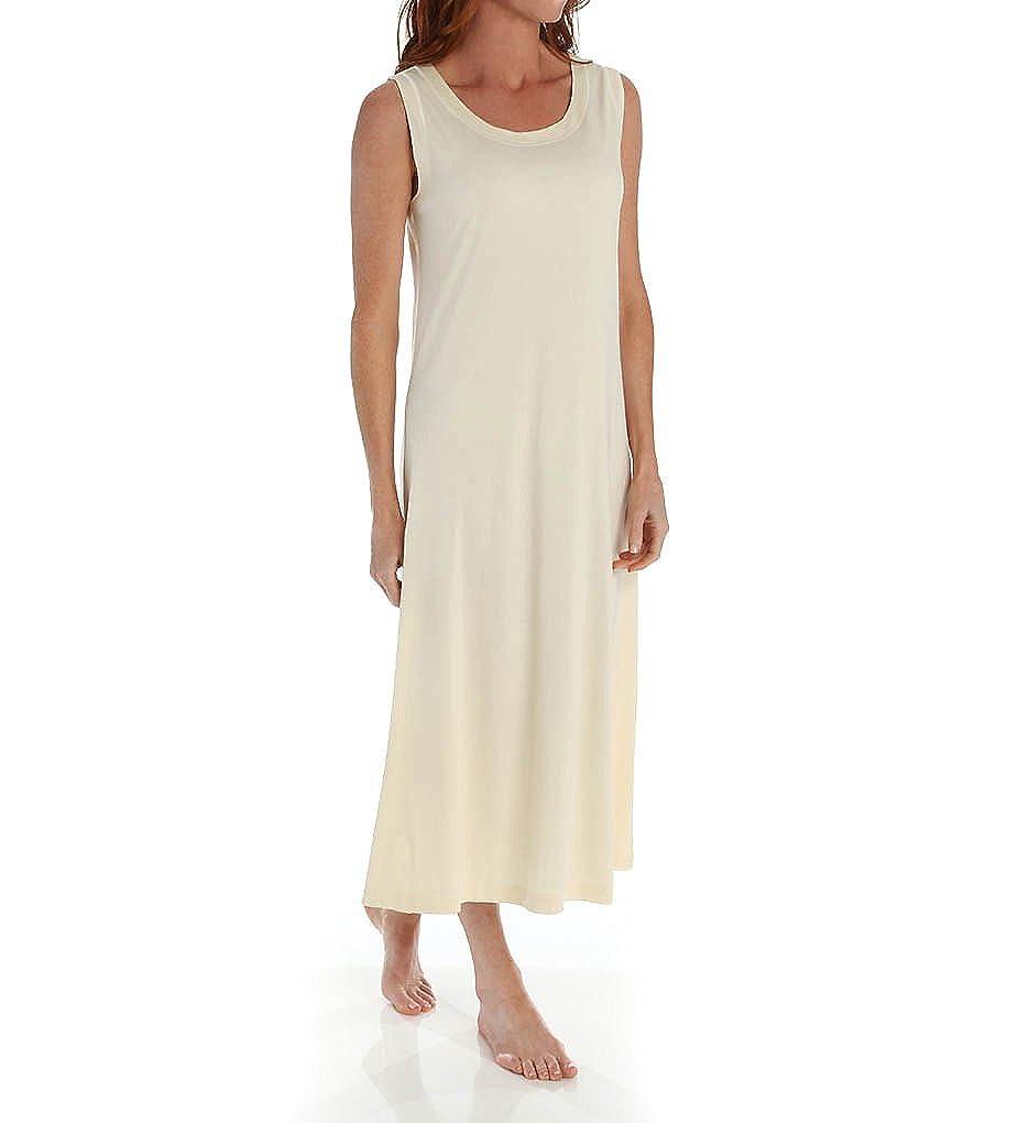 00f558f24b1 P-Jamas Ankle Length Sleeveless Butterknits Nightgown (365660) XL Yellow at  Amazon Women s Clothing store