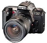 Minolta Maxxum HTsi 35mm SLR Camera Kit w/28-80mm & 75-300mm Lenses, Silver