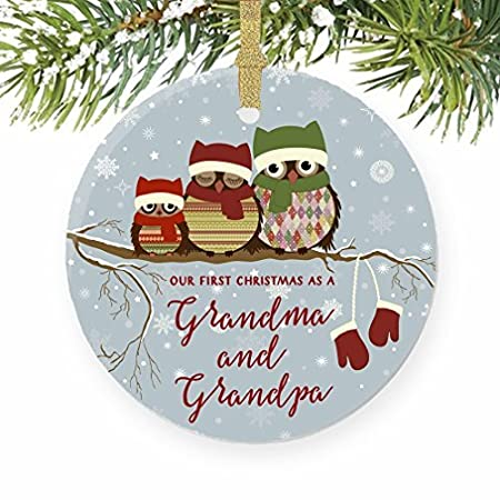 Grandparents first christmas gift ideas