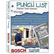 Bosch Punch List Digital Task Master, Master Builder 2003 Version #BDPTPLMB (DVD-ROM)