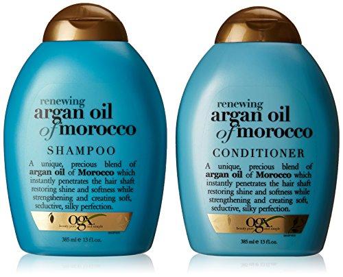 OGX Renewing Argan Oil of Morocco Shampoo & Conditioner (13 fl. Oz.)