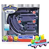 track master cranky - Chuggington Value Pack Toy Set Includes Straight and Curved 20 Piece Track Pack and Musical Train