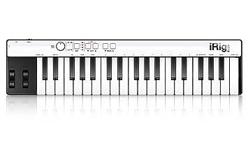 IK Multimedia iRig Teclas de tamaño completo tecla del teclado móvil universal con conector relámpago para