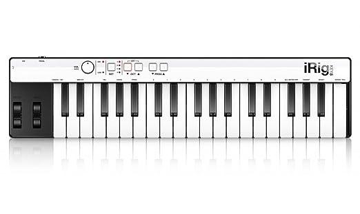 46 opinioni per IK Multimedia iRig Keys Lightning Tastiera Controller MIDI Universale per iPad,